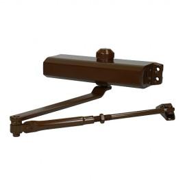 Доводчик дверной 505 (коричневый, RAL 8014) до 150 кг