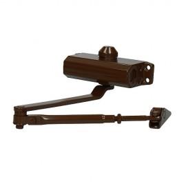 Доводчик дверной 602 (коричневый, RAL 8014) до 60 кг