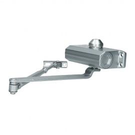 Доводчик дверной 602 (silver/серебро) до 60 кг