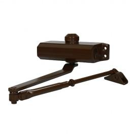 Доводчик дверной 603 (коричневый, RAL 8014) до 100 кг
