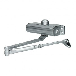Доводчик дверной 603 (silver/серебро) до 100 кг