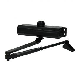 Доводчик дверной 604 (black/черный) до 130 кг