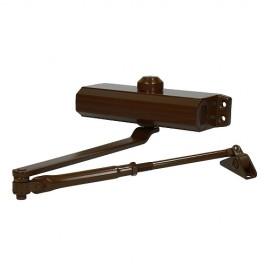 Доводчик дверной 604 (коричневый, RAL 8014) до 130 кг