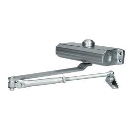 Доводчик дверной 604 (silver/серебро) до 130 кг