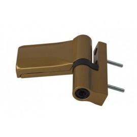 "Dr Hahn. Петля для ПВХ KT-N6R нахлест 15-20 mm, HNF 4, бронза ""жидкий лак"""