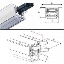 DA0501040 Система герметического закрывания для дверей L=400 мм