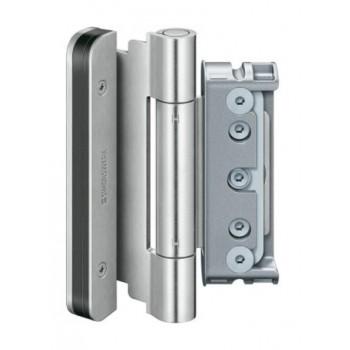 Simonsverk. Петля дверная трехчастная BAKA Protect 4010 3D FD оцинк.