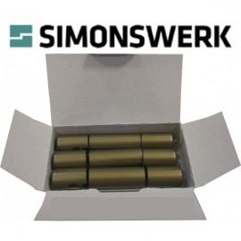 Simonsverk. Дек. накладка к BAKA protect 3D 4000 бронза (ком. на 3 петли)