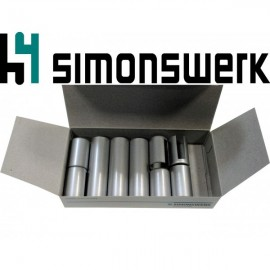 Simonsverk. Дек. накладка к BAKA protect 3D 4000 хром мат (ком. на 3 петли)
