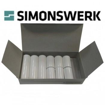 Simonsverk. Дек. накладка к BAKA protect 3D 4000 белая (ком. на 3 петли)