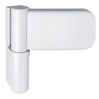 Simonswerk. Петля д/ПВХ SIKU 3D K3235, бел. (RAL 9016), нахлест 21-25мм, до 120кг